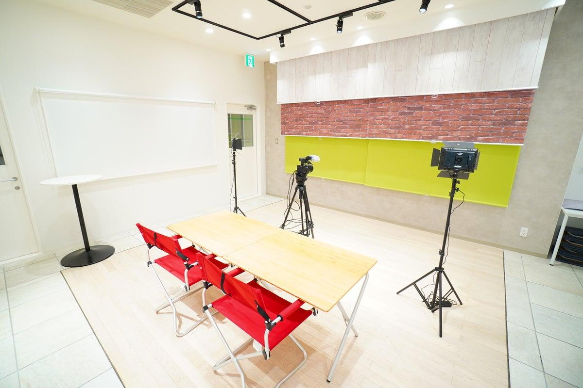 <スタジオゼロワン>有楽町マルイ内の撮影向けスペース📸撮影用機材完備!撮影/動画配信/ポートレート の写真
