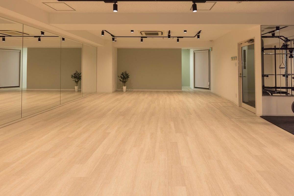 【神田駅徒歩3分】10人で踊れるダンススペース/幅6.5m高さ2.1m鏡/撮影機材多数 の写真