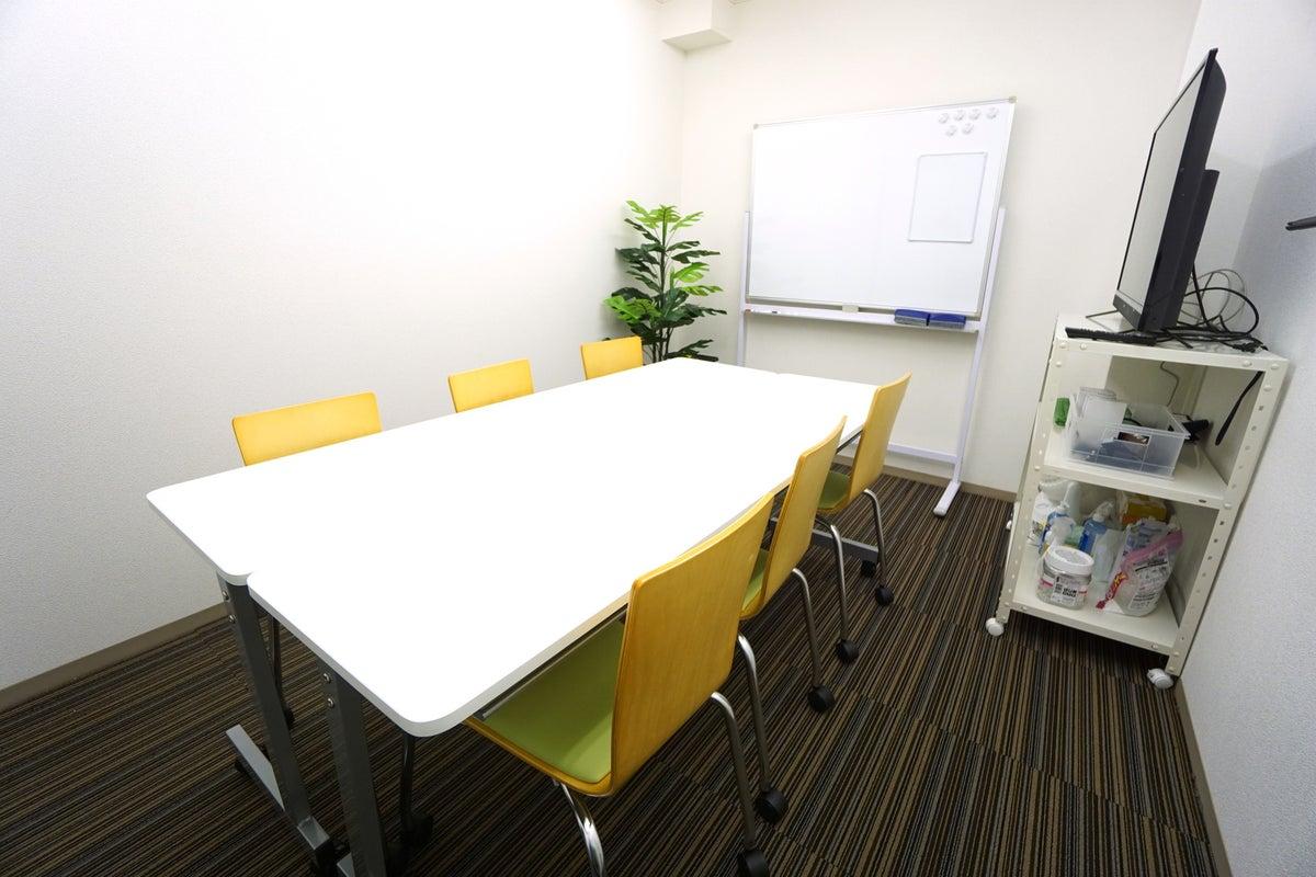 <高輪台会議室B102>高速Wi-Fi/グリーンバックあり!会議/商談/リモートワーク/Web会議/撮影 の写真