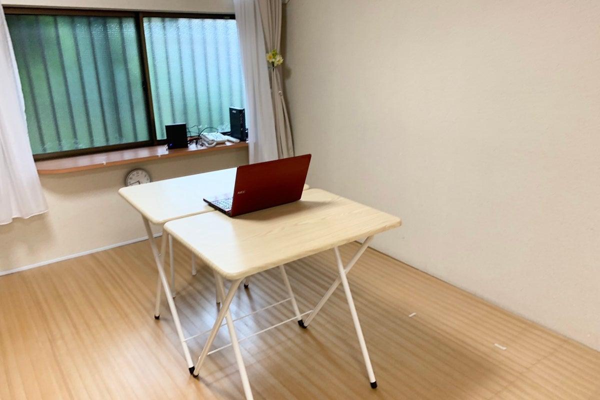 高速Wi-Fi無料。テレワーク、リモートワーク、オンラインミーティングに最適なスペース の写真