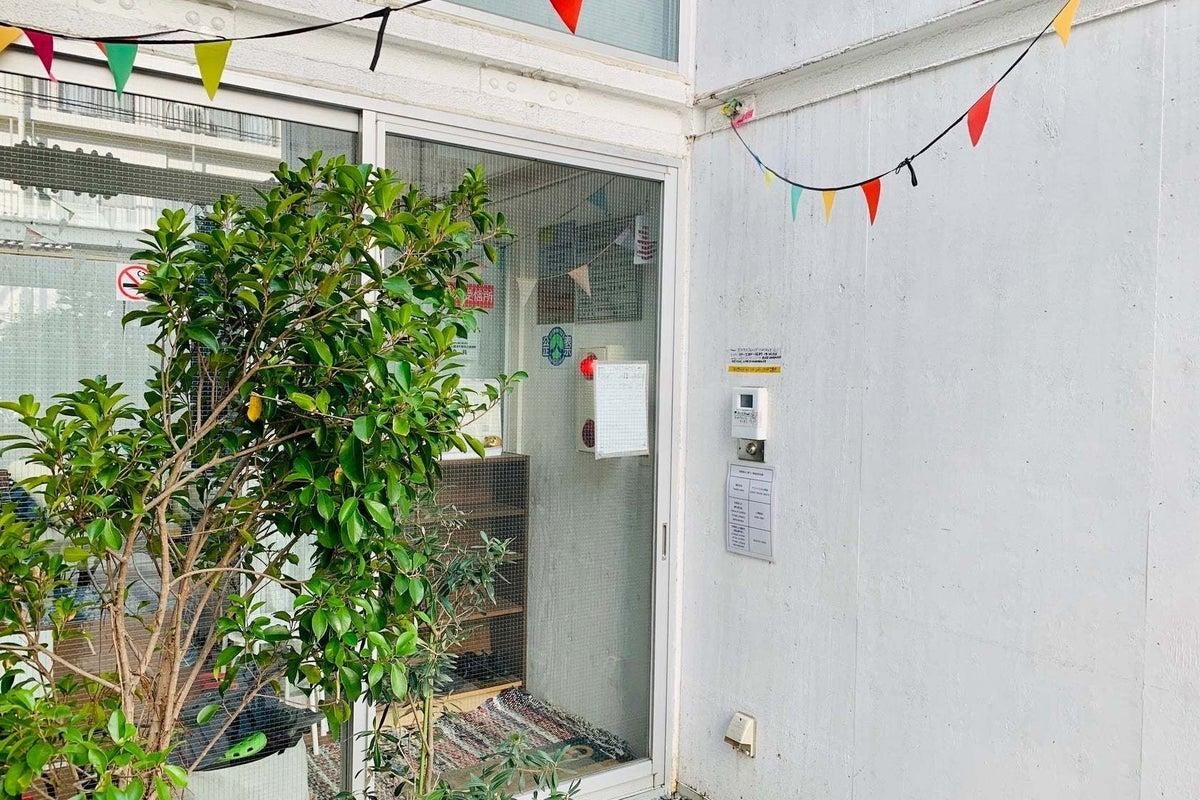 デザイナーズ建築ゲストハウスの和室 の写真