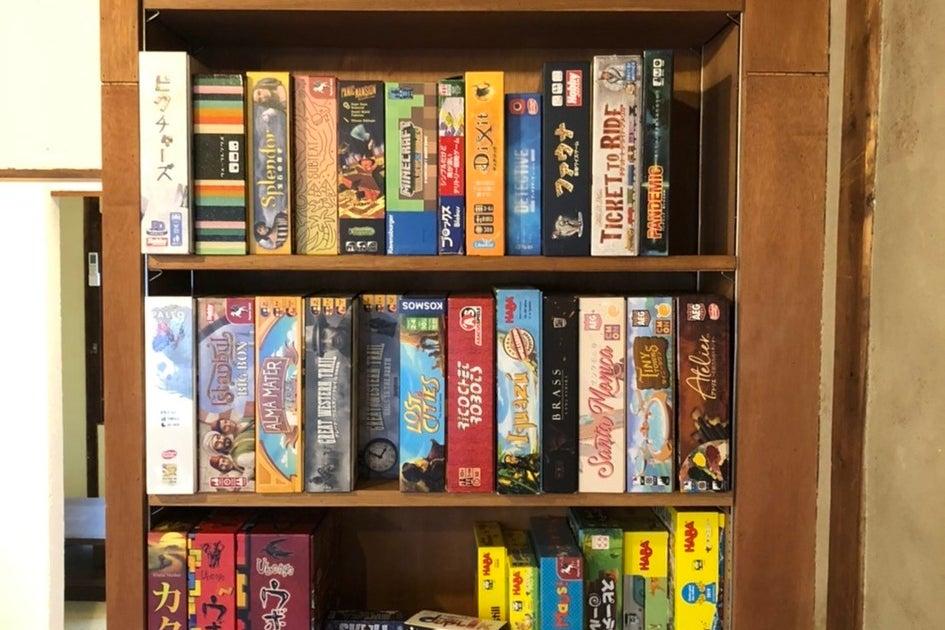 古民家CAFE 2階コミュニティースペース ボードゲーム多数取り揃えています! の写真