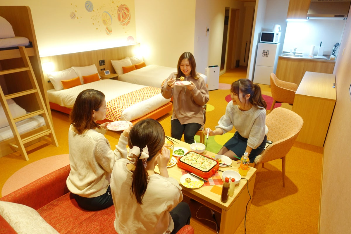 【西陣_鞠②】イズミヤ目の前👀キッチン付き🎵広いお部屋で女子会💖ママ会👶などのご利用に! の写真