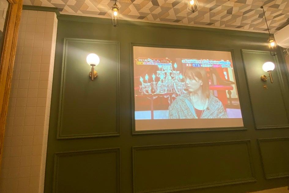 ❤️オープン特別価格❤️赤坂・溜池山王徒歩圏内/超BIGスクリーンプロジェクター/女子会/カップル/撮影 の写真
