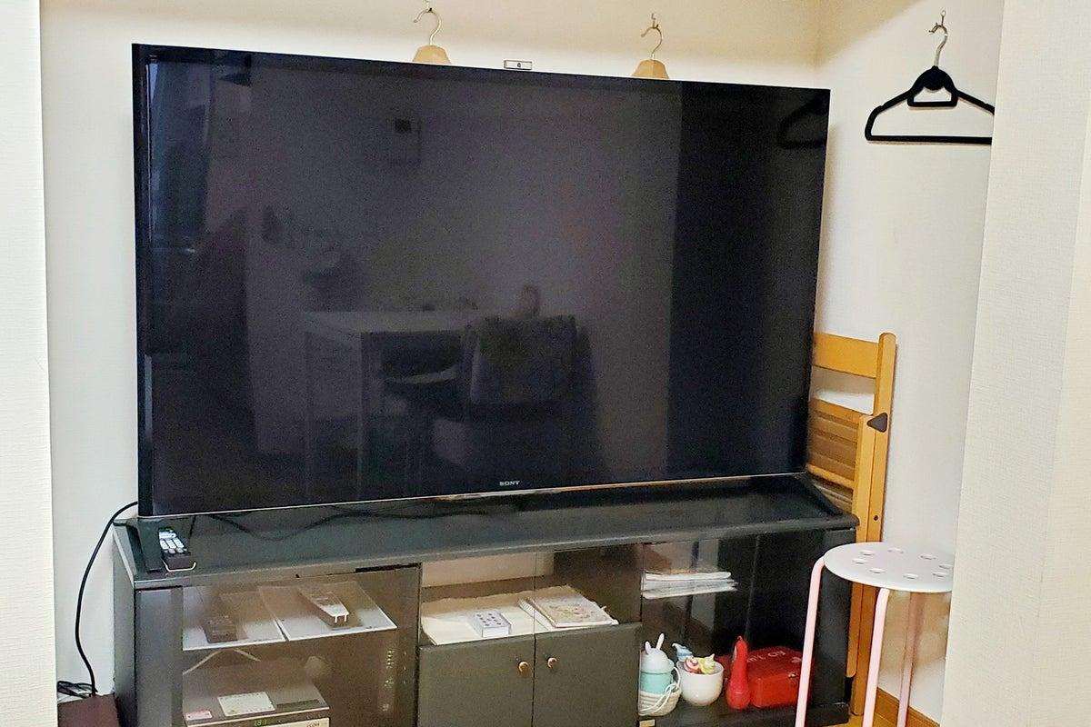 キッチン付きスペース201号室☆ソニー65型大画面TV☆お家デート☆映画☆パーティーなど の写真