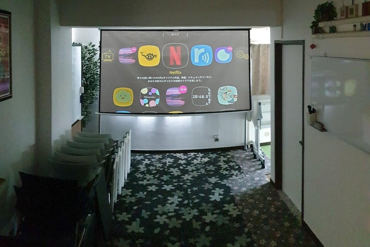 🎉換気抜群✨窓の多い角部屋⚡️中野駅2分🌸🎥100型電動4K画面📷撮影機材🎊会議パーティーボドゲ の写真