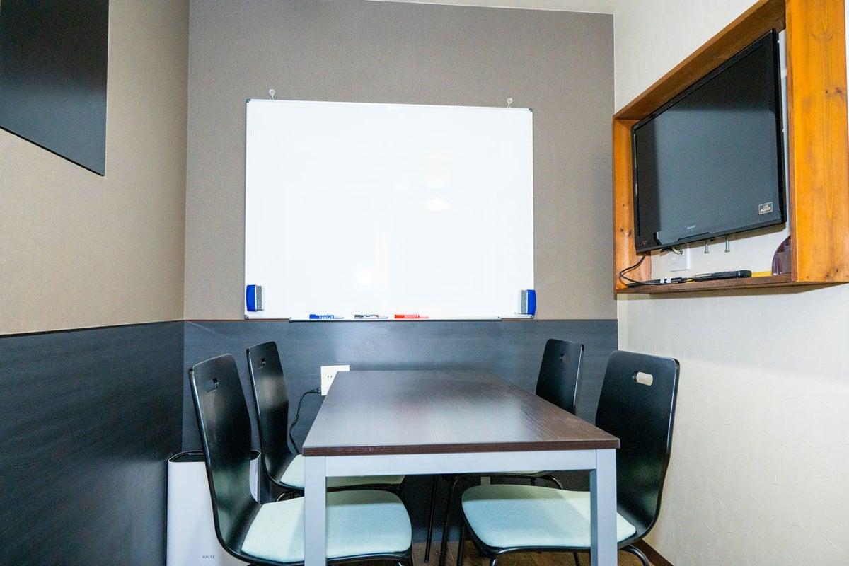 【神田駅西口2分】完全個室・Wi-Fi完備の貸会議室・ルーム1 の写真