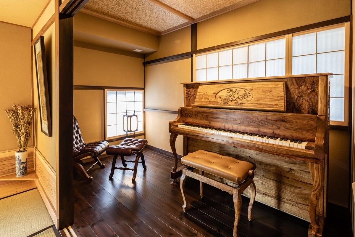 松本市内の古民家でピアノレッスン の写真