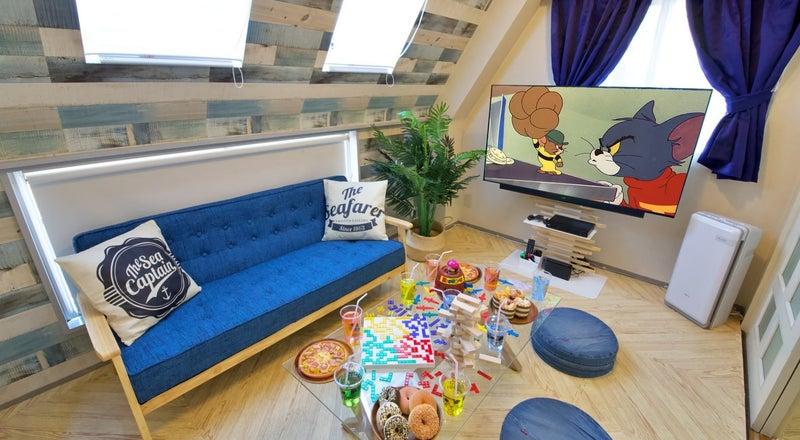 325✨【シェアスペRelax Lounge北千住】⛱summerセール🍉ゴミ捨てOK✨大人気ゲーム✨キッチン/たこ焼き/女子会