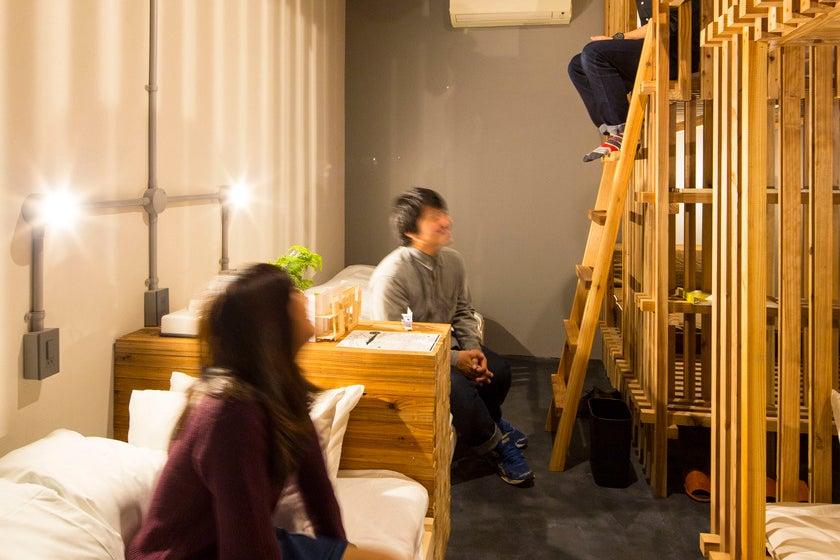 ワイワイスペースと&6ベッドのドミトリースタイル  の写真