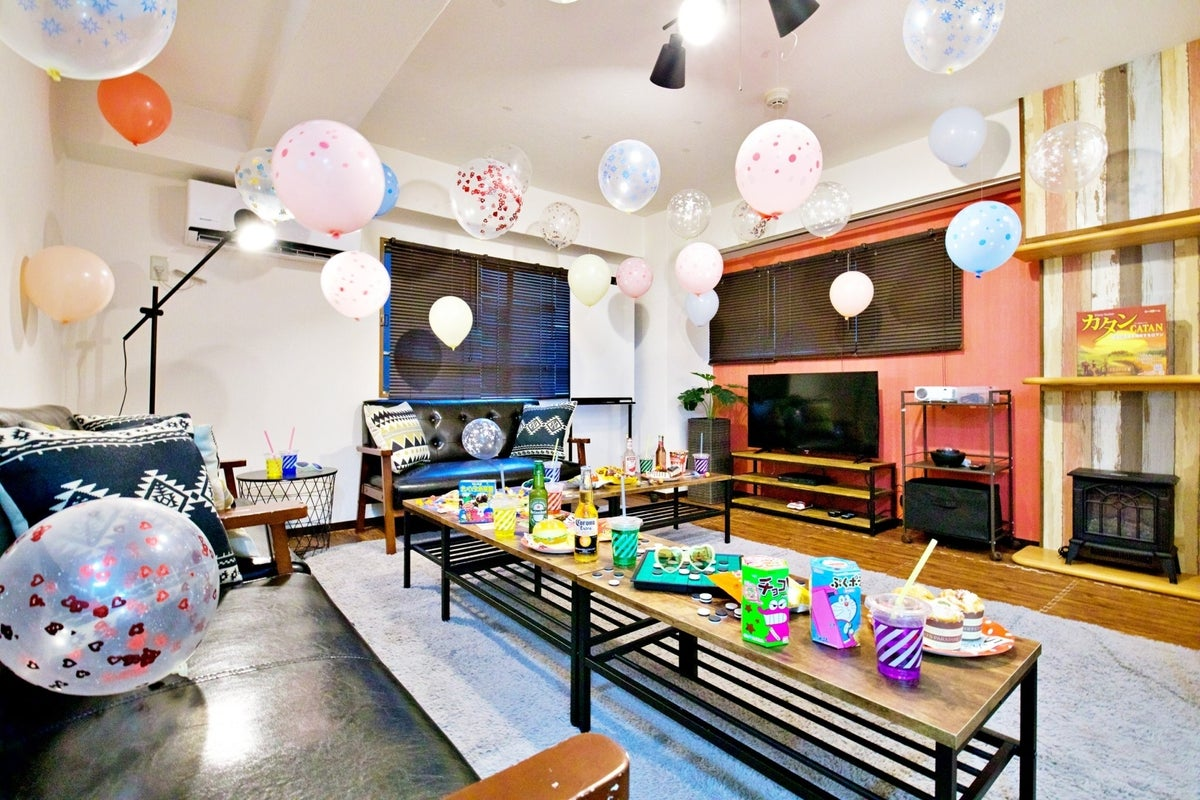 368【シェアスペseven上野】ドンキすぐそば✨最大10名✨24時間営業/当日予約大歓迎✨飲み会/パーティー/撮影 の写真