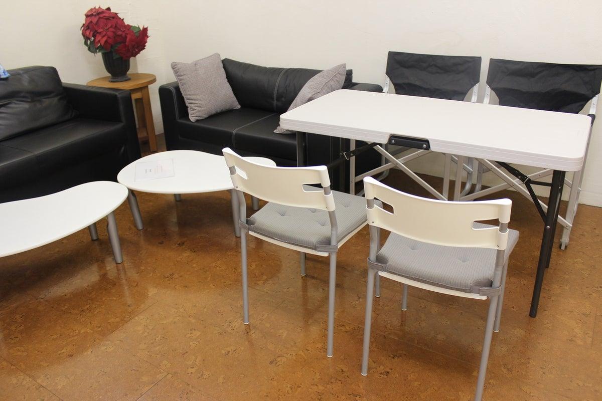 【品川・高輪台】シンプルで多目的なレンタルスペース!会議からフィットネスまで の写真