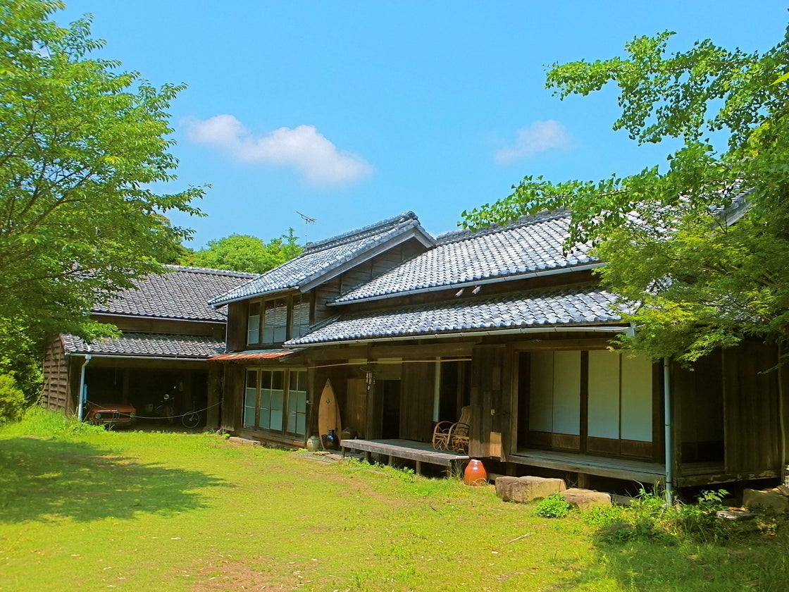 【宮崎】築130余年の古民家を改造した和モダンなシェアハウス これからのシーズンは花見もできます(古民家シェアハウス風樹) の写真0