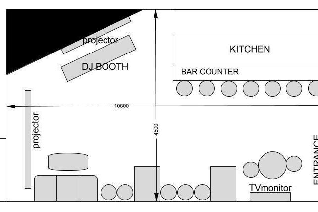 まるで秘密基地!! 本格DJ機器完備のおしゃれなバーでイベントやパーティーはいかが?【世田谷区/京王線/明大前】 の写真