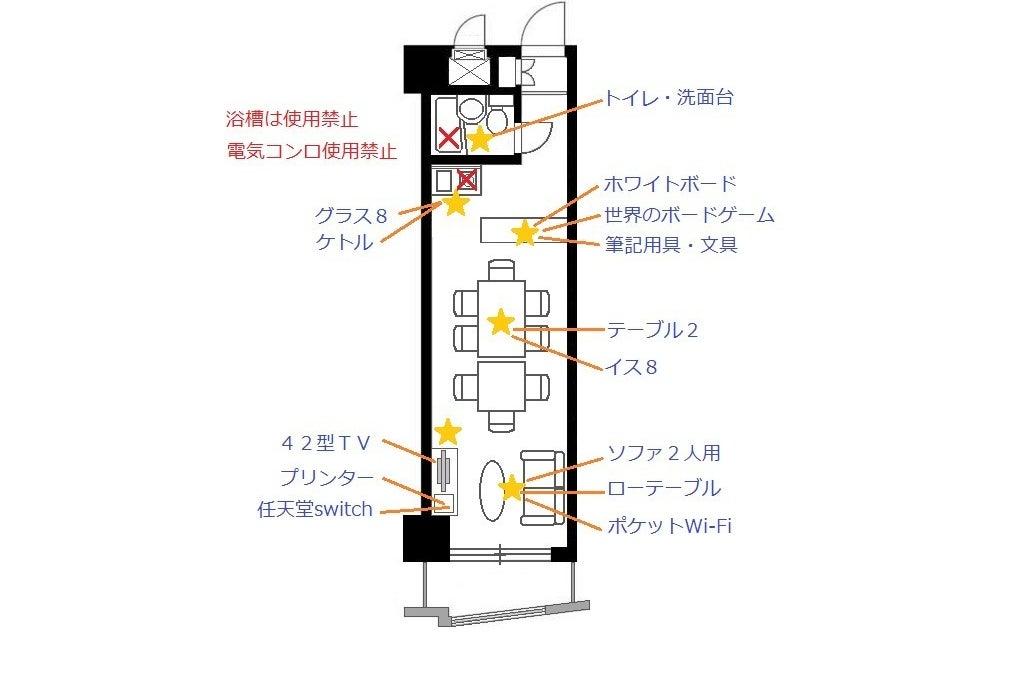 横浜駅東口徒歩8分 #会議室 #ボードゲーム #ミーティング #ゲーム #セミナー #講習会 #教室 の写真