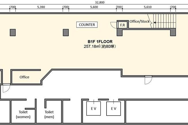 【B1-1フロア】南船場のランドマークビルにある、心斎橋駅、本町駅すぐのレンタルスペース。【大阪市中央区】 の写真