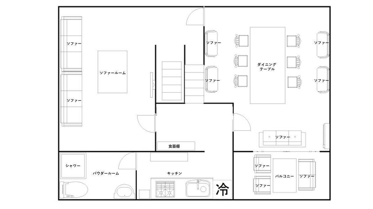 【スペースマーケット渋谷】⭐️トップホスト認定⭐️TV・映画・CM撮影で人気スペース❣️都会のテラスで乾杯🥂 の写真