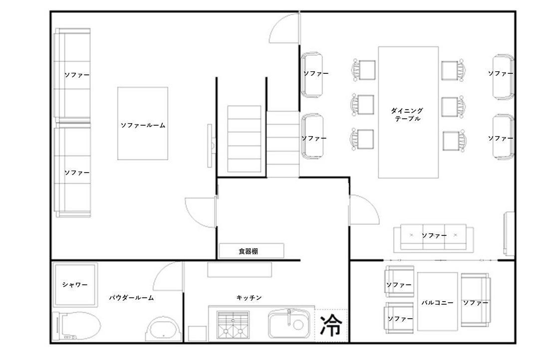 【bliss 渋谷】トップホスト認定✨屋上貸切BBQ✨テレワークやリモート撮影に最適✨2部屋まるまる貸し切り❣️ の写真