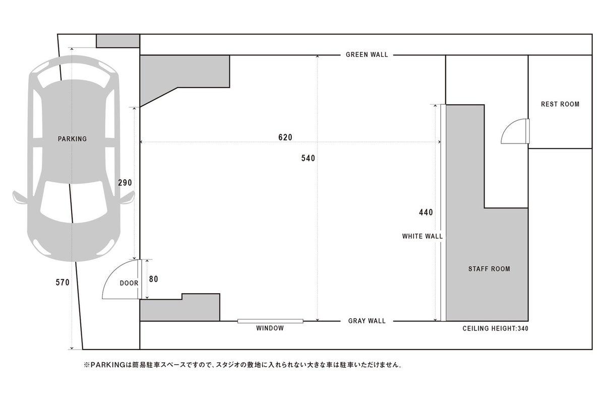 STUDIO67 River【駅徒歩7分】グリーンに癒される ガーリーでシックなスタジオ。パーキングスペース有! の写真