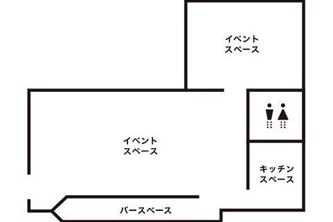 【浅草駅徒歩2分】キッチン付おしゃれなダイニングバーを持込パーティラウンジとして貸切!! の写真
