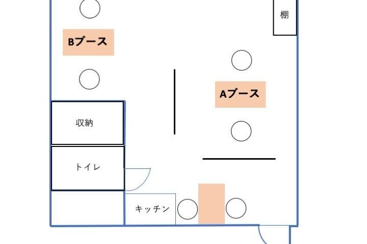 【横浜駅徒歩3分】ネイル専用レンタルサロン「モンレーブ Aブース」卓上ライト・LED & UVライト完備!(貸切ではありません) の写真