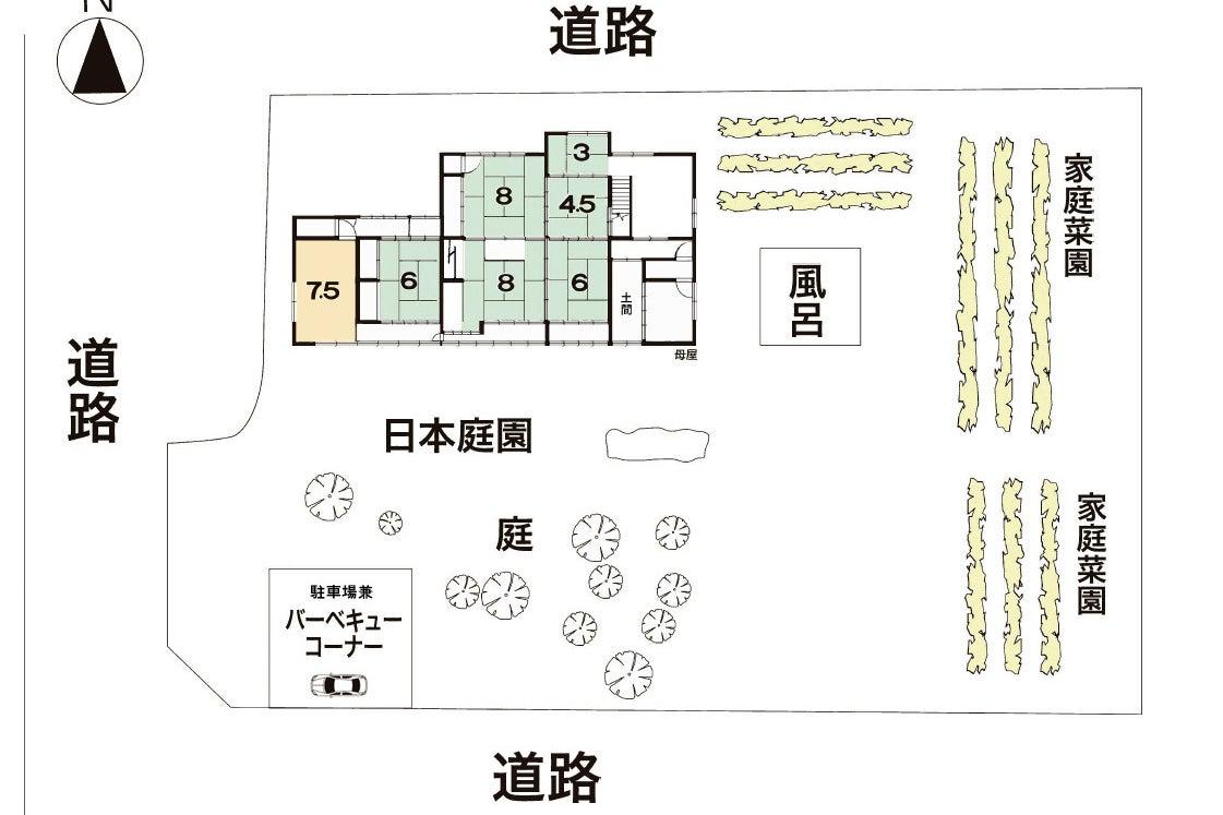 【京都】一棟丸ごと自由に使える広々「築80年の古民家」で、コスプレ撮影・BBQ・イベント・田舎体験 の写真