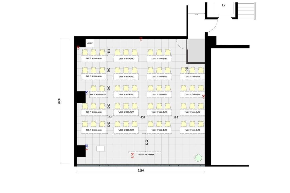 スペースマーケット会議室 渋谷宮益坂店 3B【駅徒歩4分・3フロア6部屋ご用意】 の写真