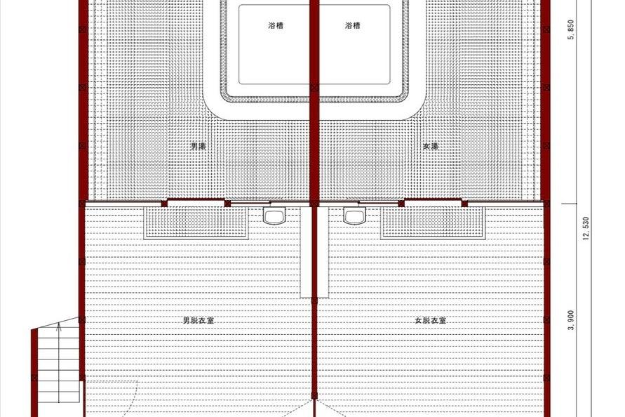 【兵庫県】かつて横尾忠則も通った銭湯跡!レトロな空間で撮影やイベントに!良採光 の写真