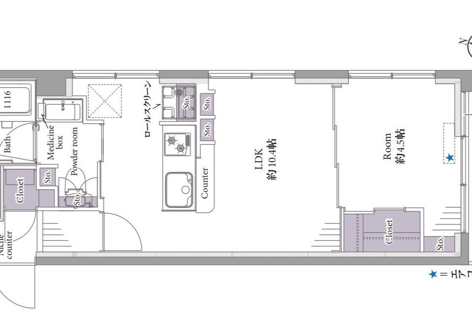 OPENセール!雑誌掲載【杉並🌟オトナPOP】新宿から4駅/写真映え間違えなしのカラフル空間! の写真
