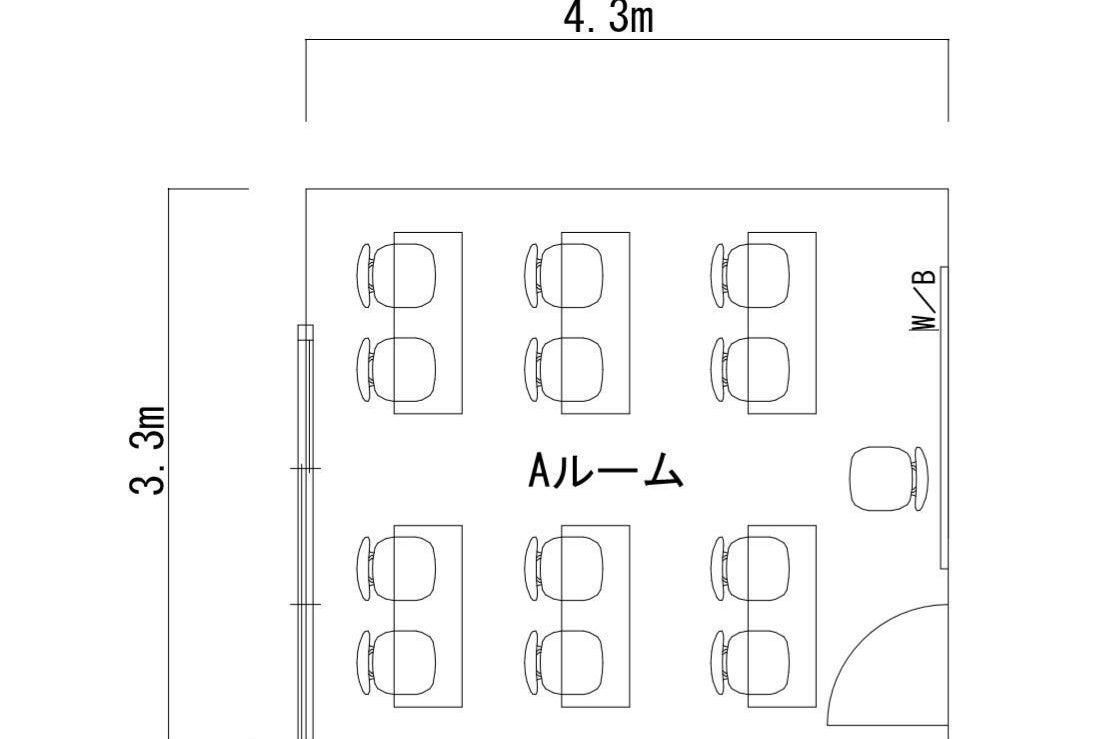 たまプラ駅徒歩4分【Aルーム】 テレワーク・塾・セミナーなどに最適!! 定期利用可!【HALレンタルスペース】 の写真