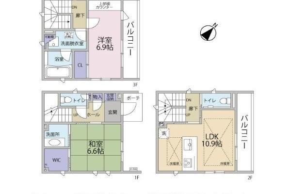勝どき駅 徒歩4分 対面キッチン付き 戸建て カラオケ、パーティ、会議、撮影、控え室にも の写真