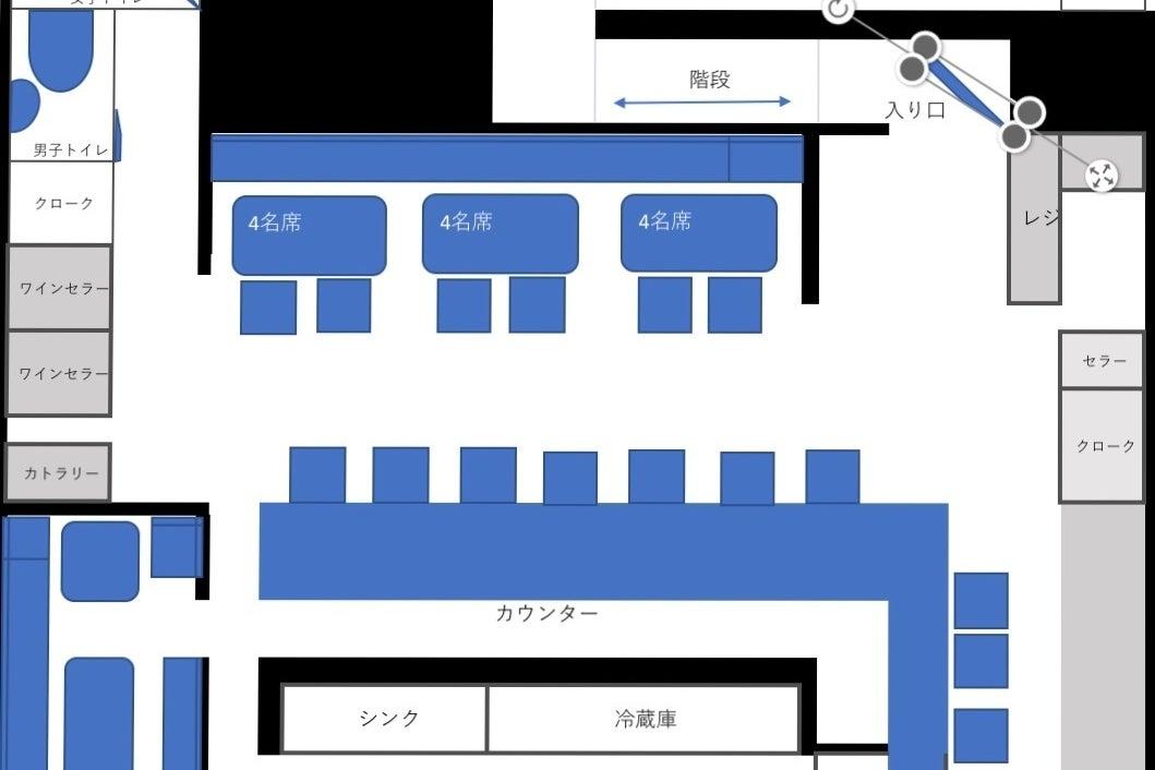 【八王子駅徒歩5分】個室完備のおしゃれなバースペース。パーティ・ロケ撮影・会議などに! の写真