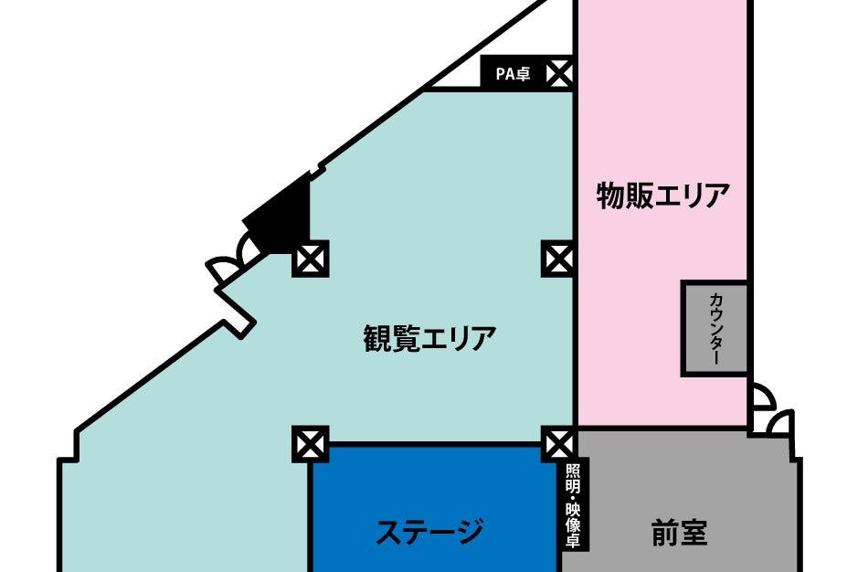 あるあるCityB1Fスタジオ 小倉駅から徒歩2分の好立地! ライブなど様々な用途で利用可能! の写真