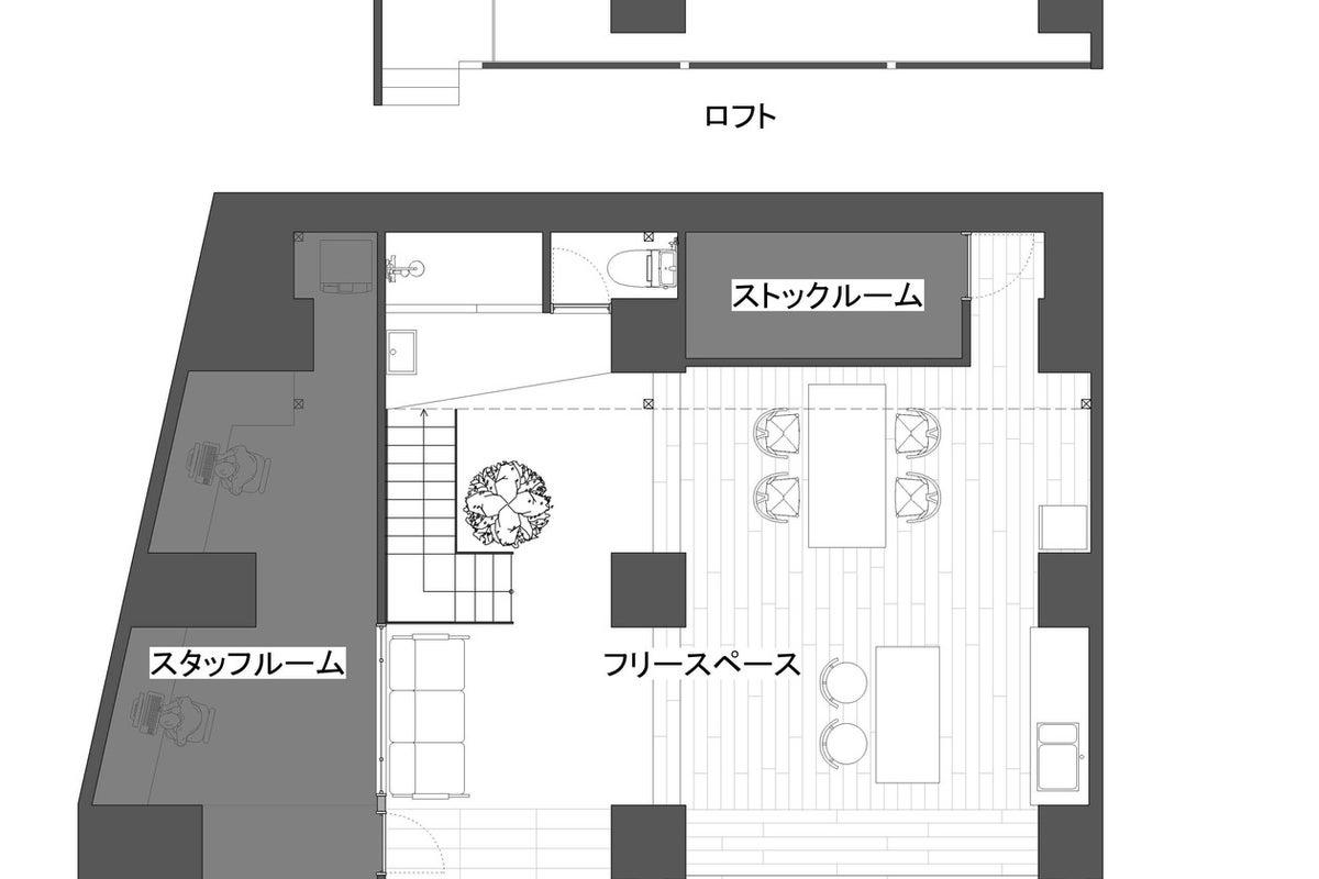 【三ノ宮】天井高4mの大空間スペース / スタジオ / ギャラリー の写真