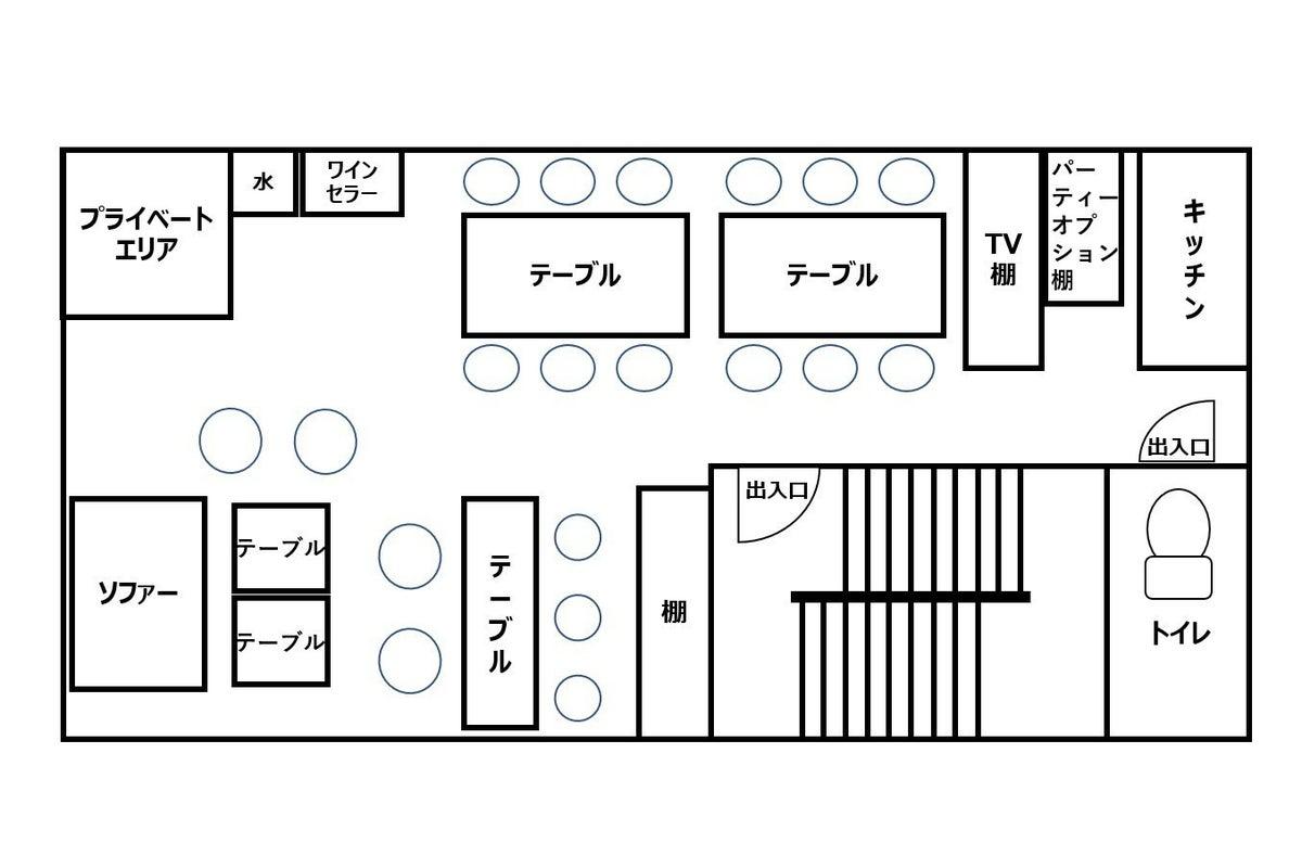 銀座駅 徒歩3分 ビル ワンフロア貸切! パーティー、撮影、セミナー、控え室にも の写真