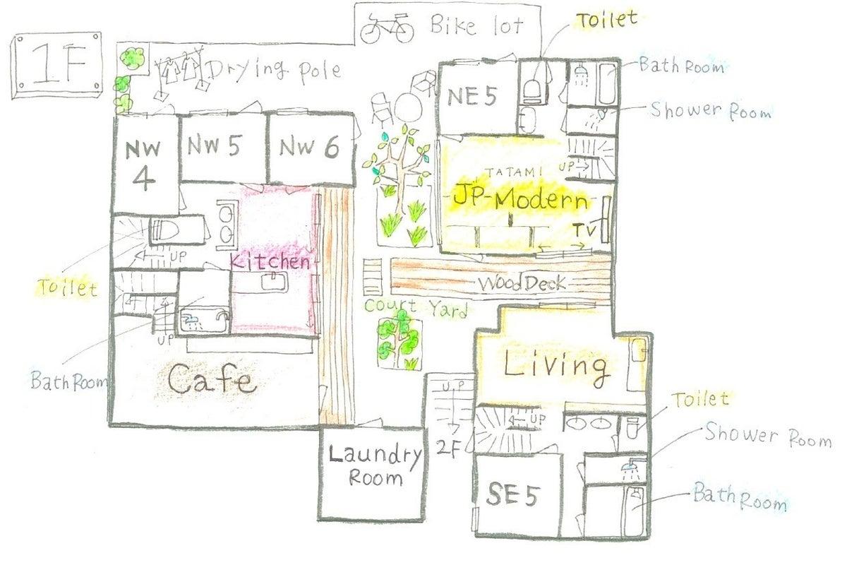 自由が丘のデザイナーズシェアハウスでの撮影が可能です!! の写真