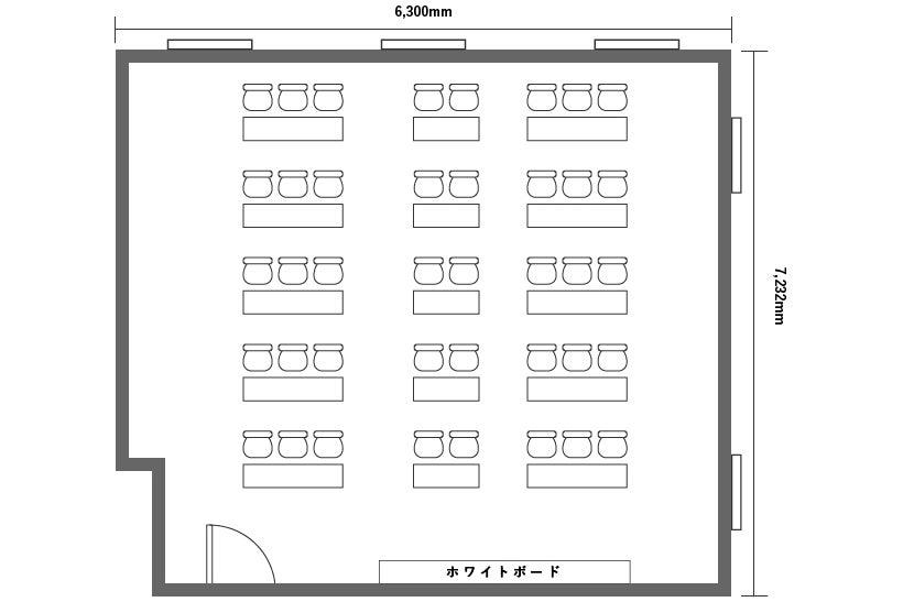 【旭橋駅徒歩3分】定員40+α名!プロジェクター含む備品・高速Wi-Fi無料!泉崎501会議室 の写真