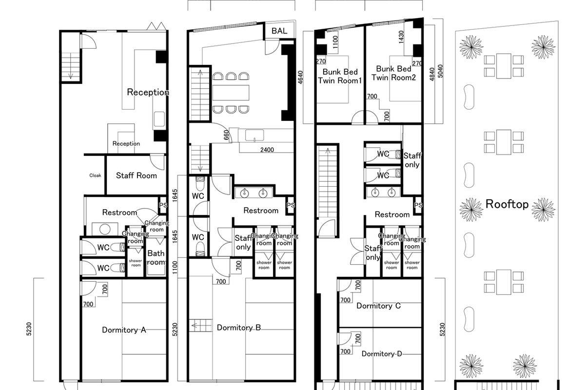 THE NEXT DOOR No.1 東寺が眺める個室スペース。共用キッチンあり! の写真