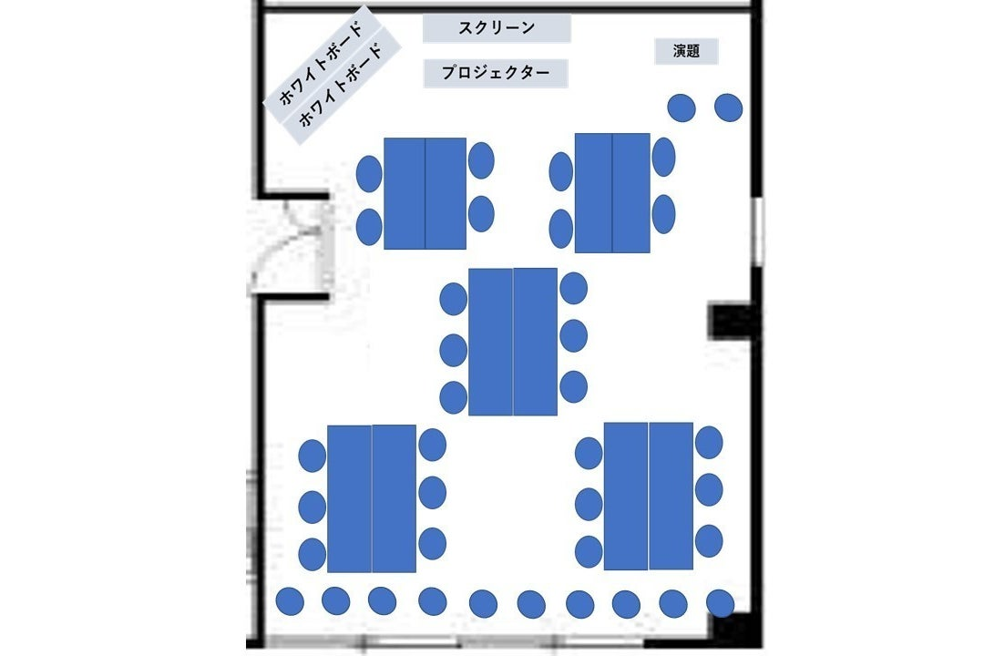 《VILLENT新宿》新宿御苑1分/最大38名/無料Wifi/テレワーク/ホワイトボード/プロジェクター/DVD の写真