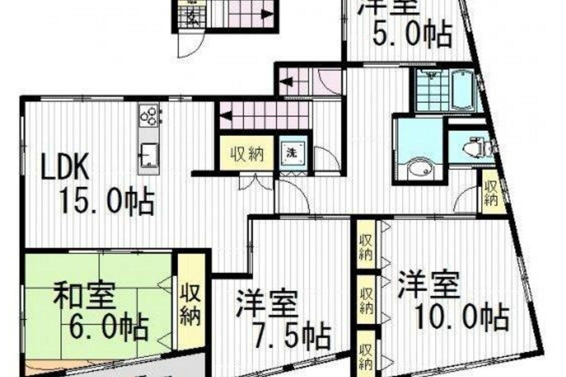 レンタルスペース『アースピース』4LDK/118㎡/キッチン/料理/パーティ/撮影/ロケ/東中野・中野坂上駅 の写真