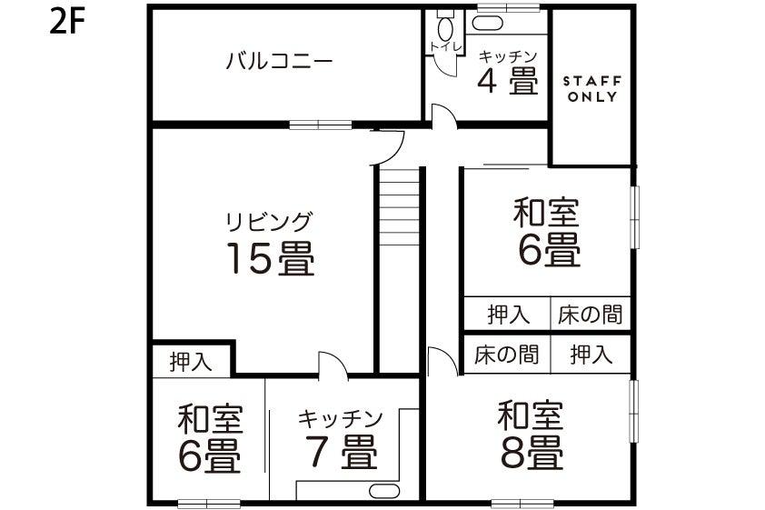 【都島駅3分】昭和レトロな和室!毎回清掃/撮影/wifi の写真