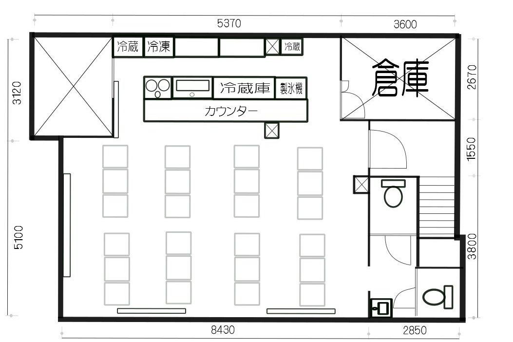 キッチン・カラオケ完備!!大人の隠れ家『TSURUGATA BASE』 の写真