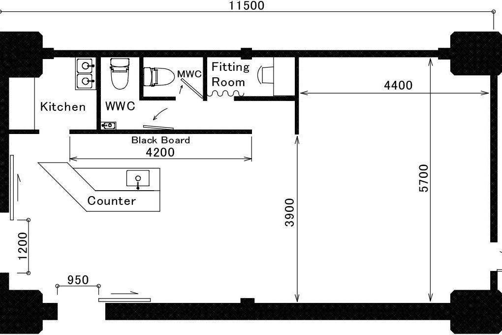 【KOUKAスタジオ】キッチン付♪福島野田JR高架下1階/見学無料/ポップアップストア/イベント/ワークショップ/物販/… の写真