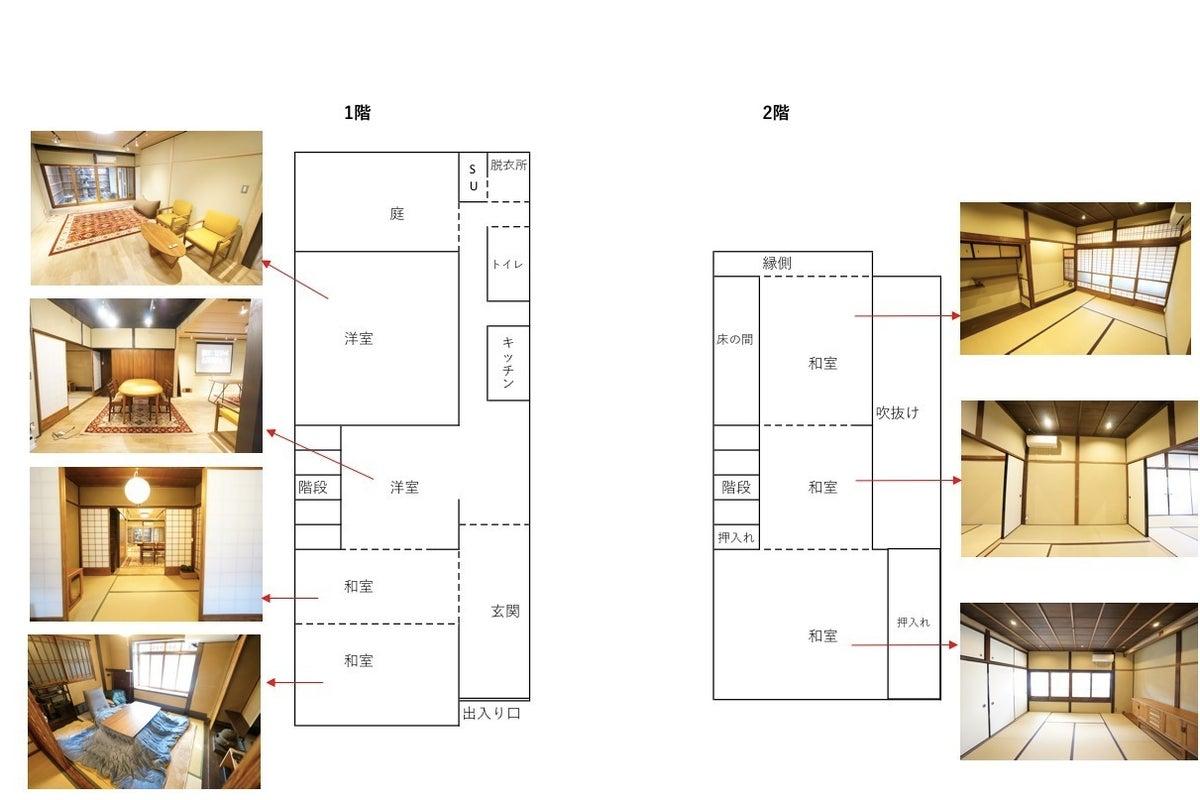 <jicca561ギャラリースペース>リモートワーク・テレワークにも最適!五条駅徒歩3分♪リノベーション済み2階建て民家⭐️ の写真