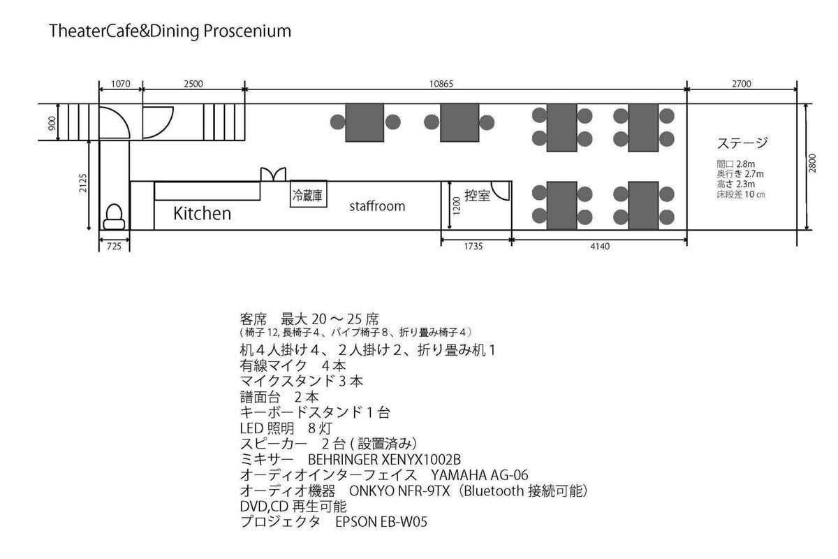 【高円寺駅 徒歩3分】ステージ付きのスチームパンク風スペース パーティ・撮影・各種イベントに の写真