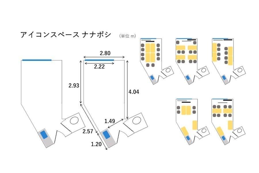 アイコンスペース「ナナボシ」名古屋駅 徒歩2分 高速WiFi/大型モニター/テレワーク/動画撮影/オンライン会議 の写真