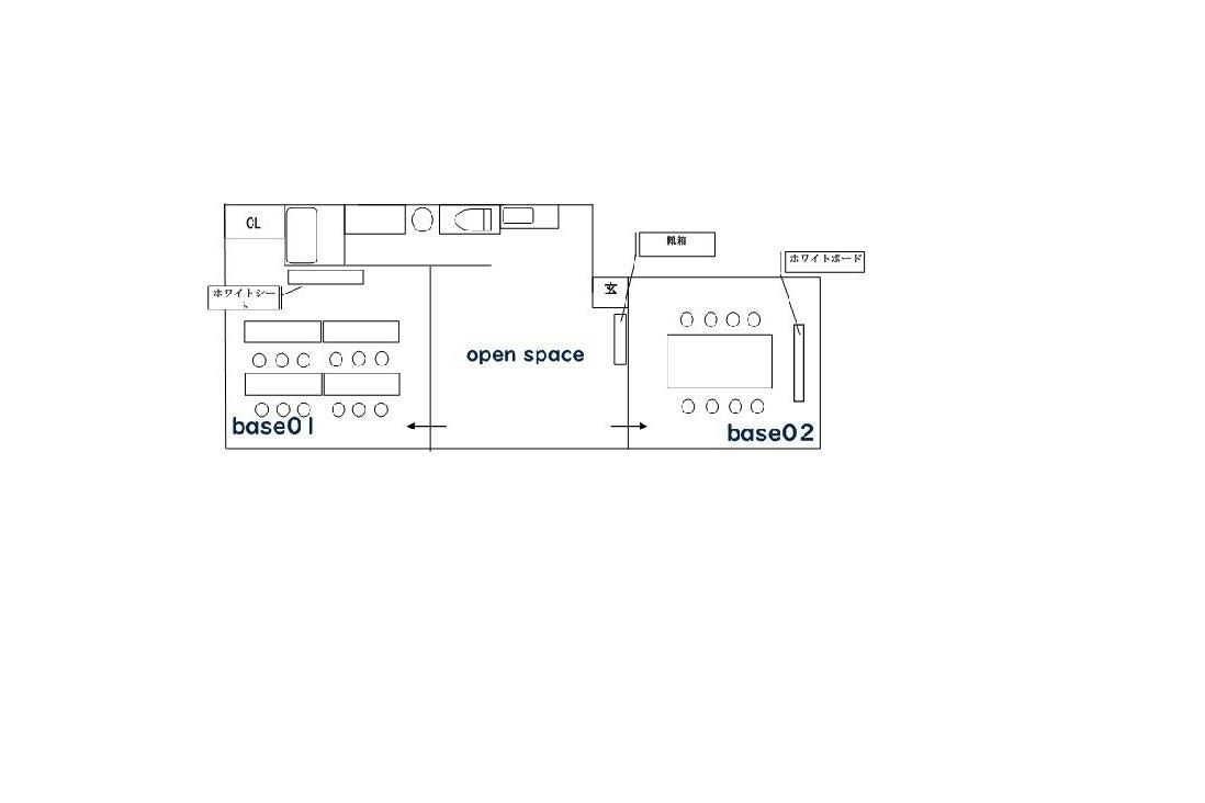 【駅近で分かりやすい】三宮1分❗️Wi-Fi・プロジェクター無料‼️セミナー・会議に👨🏻💻base01レンタルスペース/会議 の写真