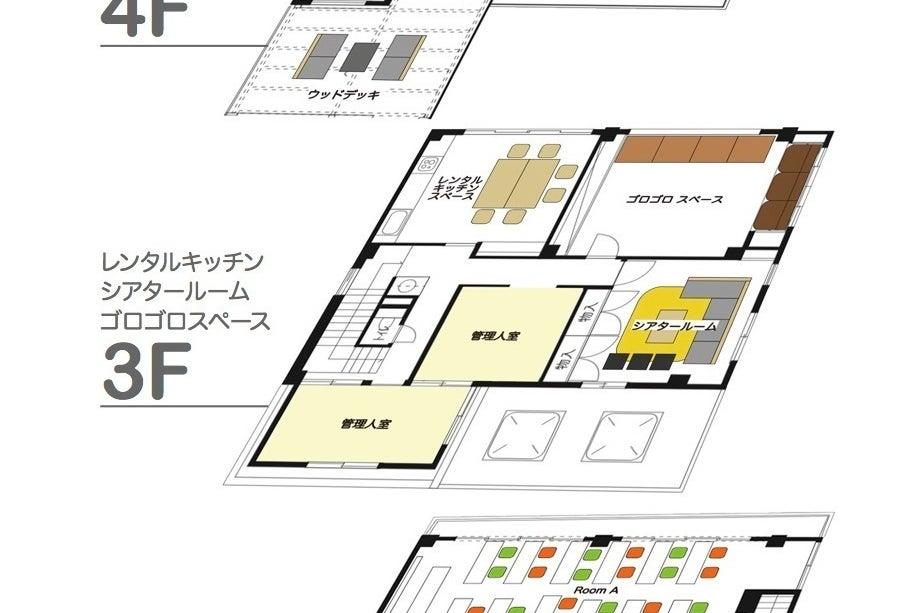 【&EIGA】巣篭り✤ポップインアラジンのシアタールームで映画鑑賞/デート/カップル キッチンも格安で利用可能 の写真