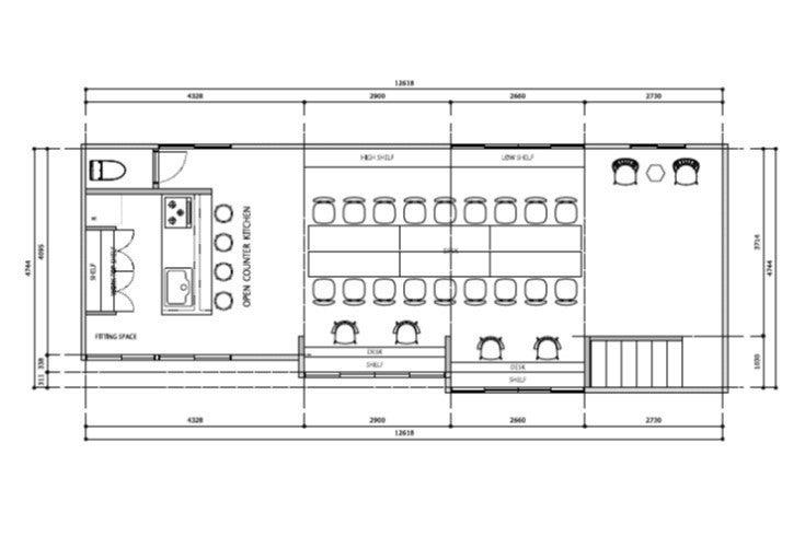 【空堀・上本町】広々キッチンのフルリノベ空間/演奏会・パーティー・撮影会・セミナーなどに! の写真