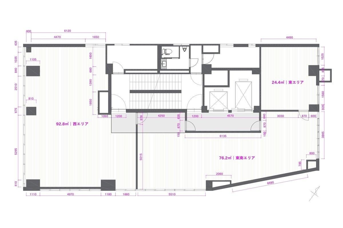 【貸切スペース】8階フロア(撮影専用):北品川駅 徒歩3分/30名〜40名収容 の写真